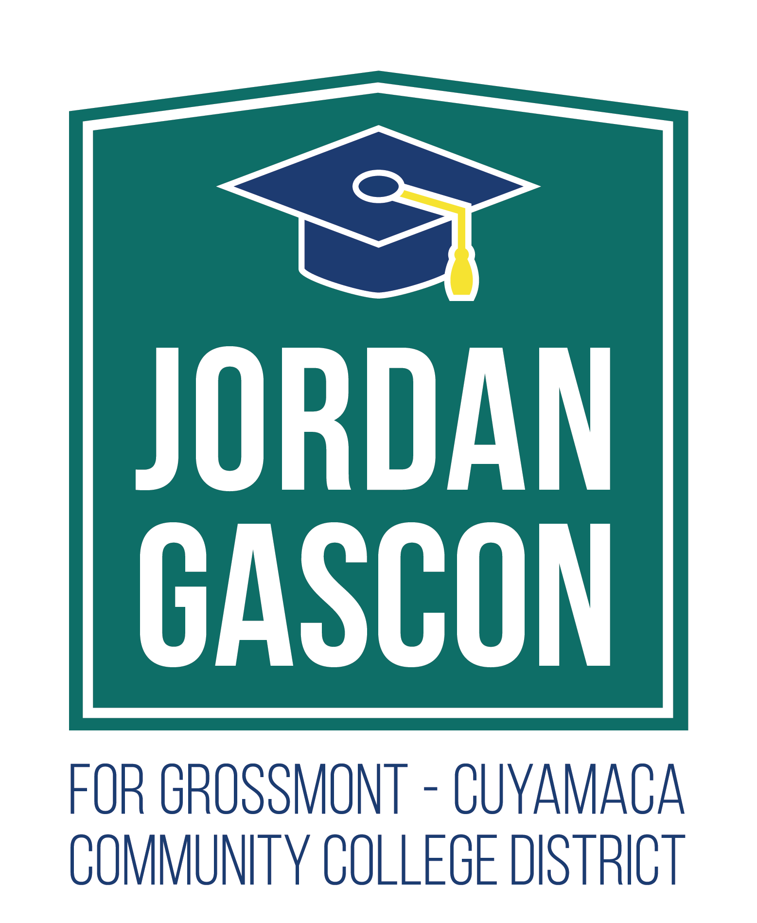 Jordan Gascon for Grossmont-Cuyamaca Community College District